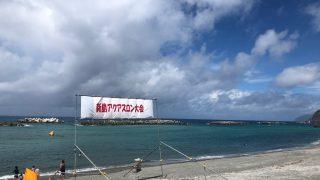 新島アクアスロン 前浜海岸