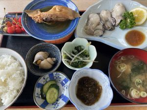 岩牡蠣定食